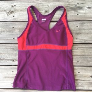 Nike Fit Dry padded tank top